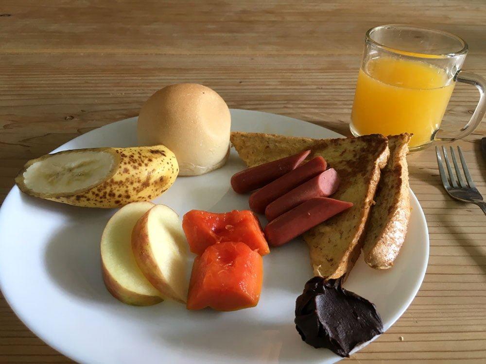 Taipei Star Hostel Breakfast