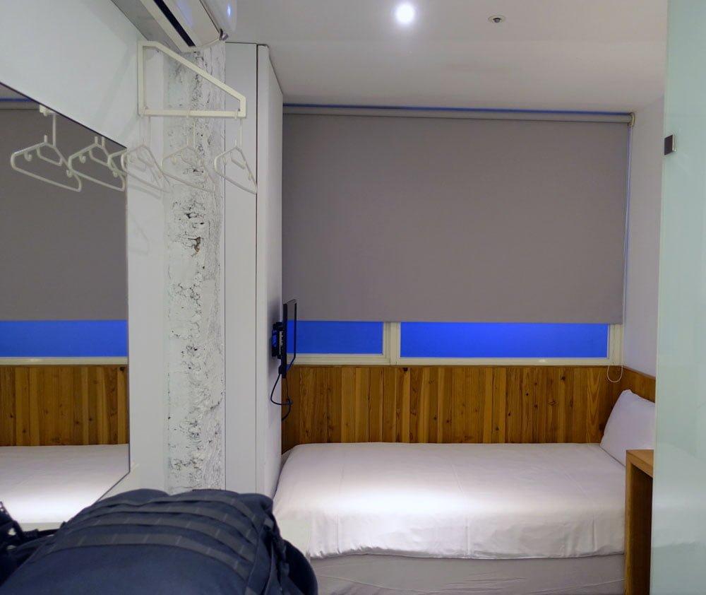 Taipei Star Hostel Room