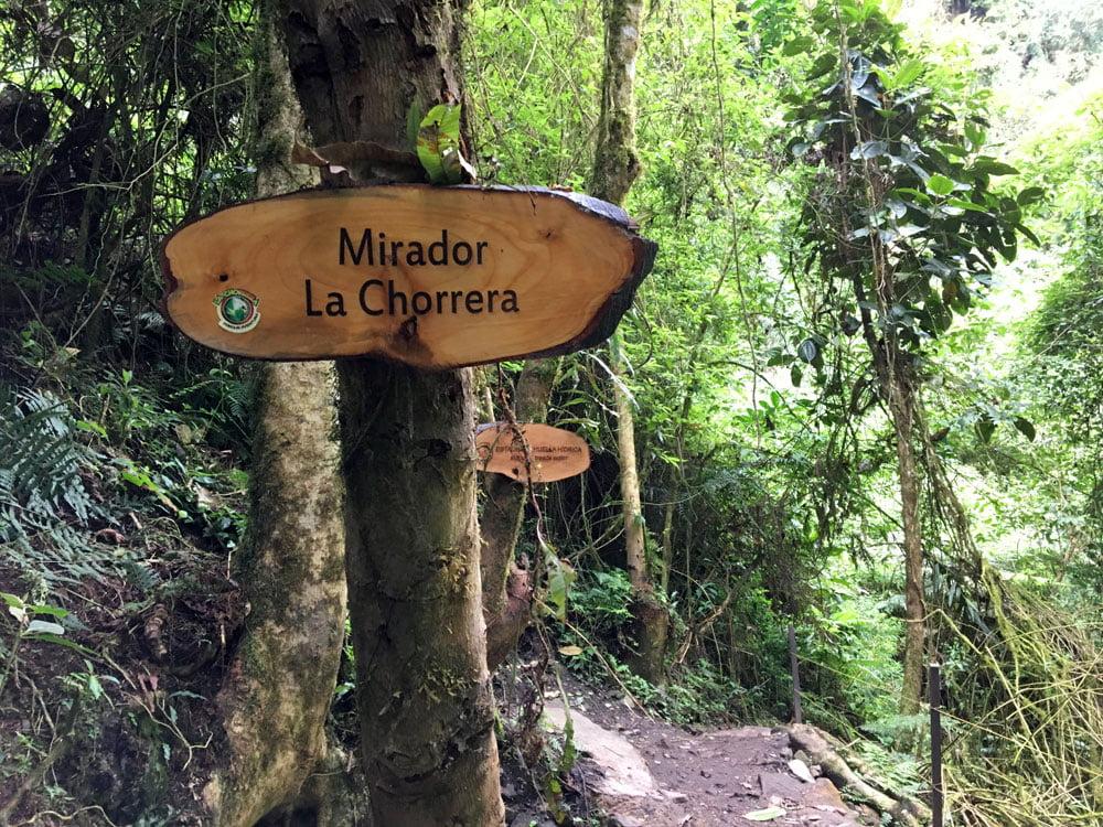 Colombia La Chorrera Mirador