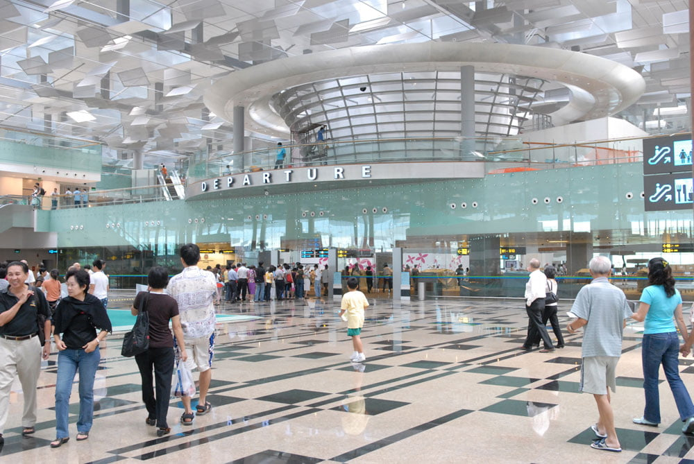 Singapore Changi Airport T3 Departure STB