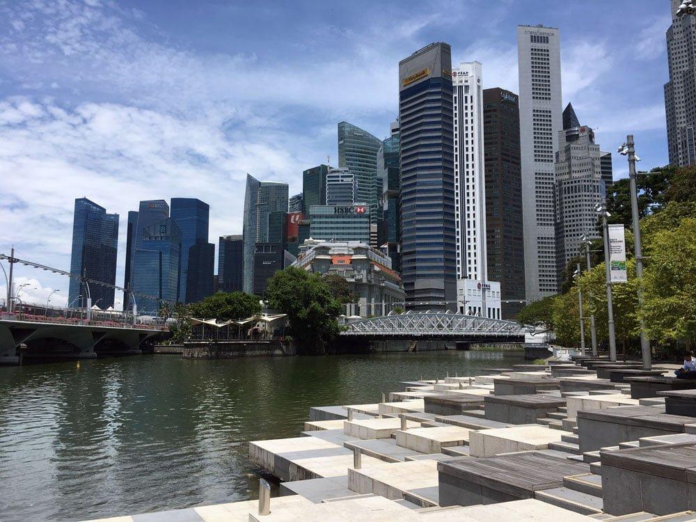 Singapore Esplanade Park Waterfront