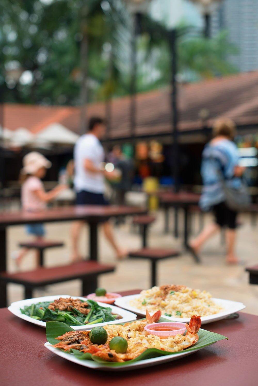 Singapore Newton Food Centre STB DannySantos