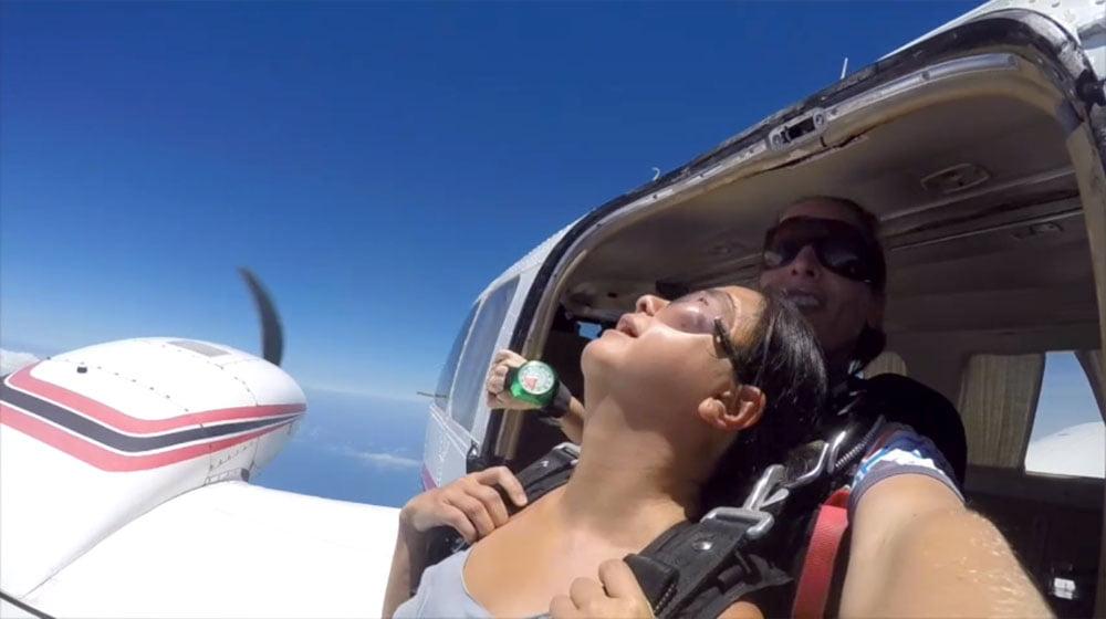 Kenya Diani Beach Skydiving Fall Edge