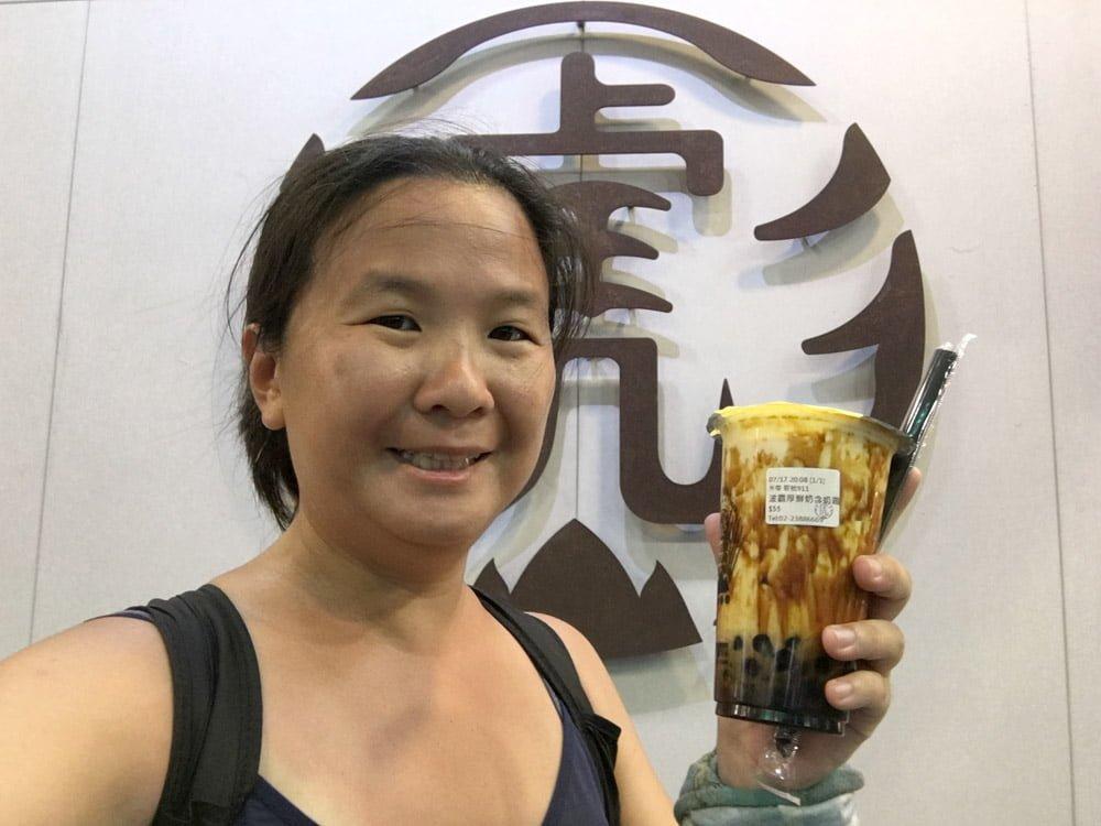Taipei Tiger Sugar Bubble Tea Me