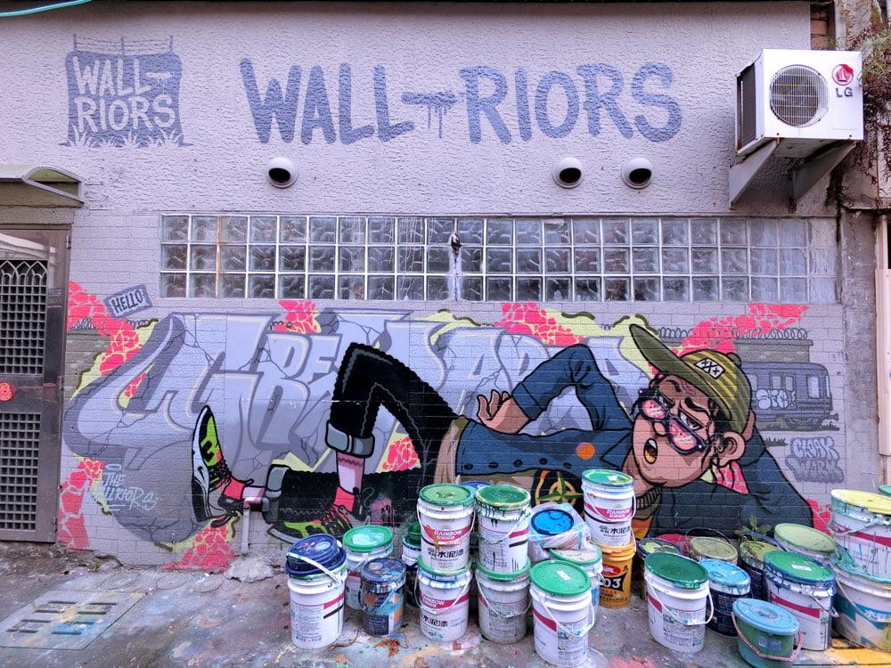 Kaohsiung Weiwuying Street Art Wallriors