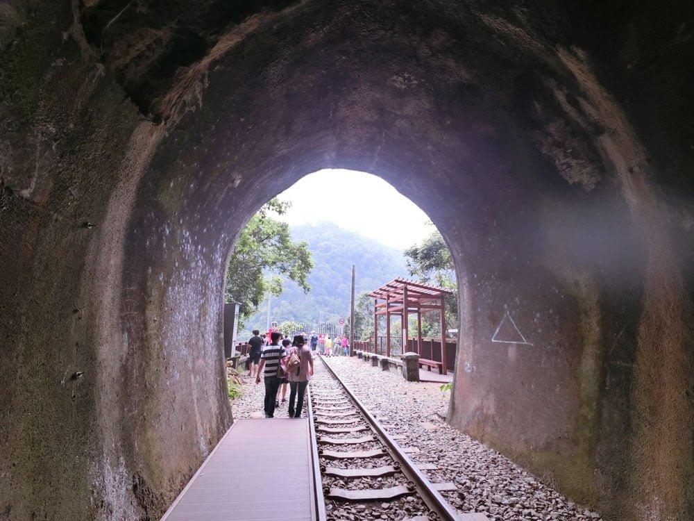 Miaoli Shengxing Old Mountain Line Railbike Tunnel