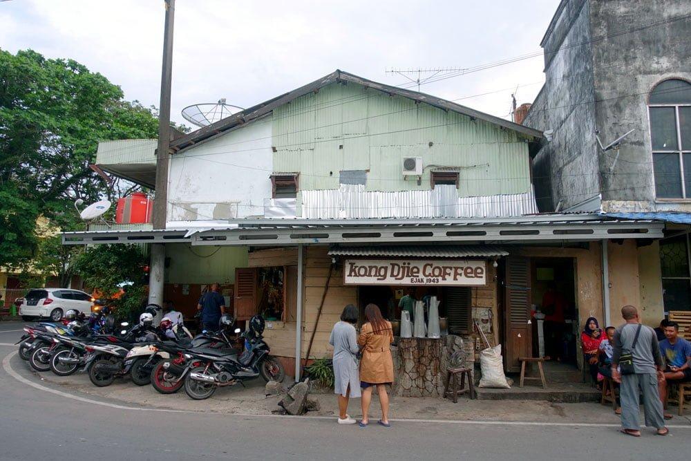 Belitung Kong Djie Coffee Entrance