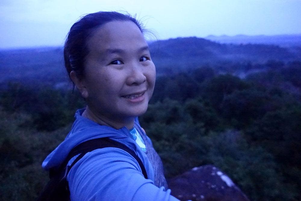 Belitung Peramun Hills Selfie