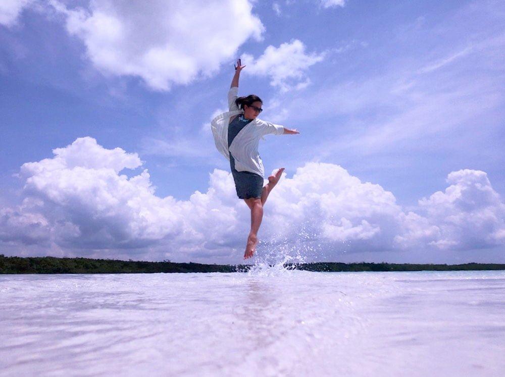 Belitung Sandbar Island Jumpshot