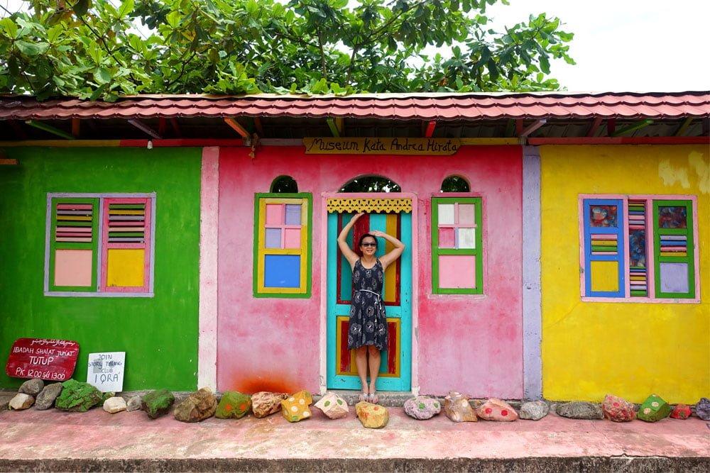 Belitung Andrea Hirata Museum Colourful Me