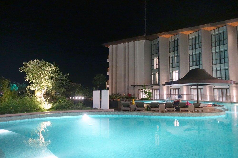 Belitung Fairfield by Marriott Pool Night