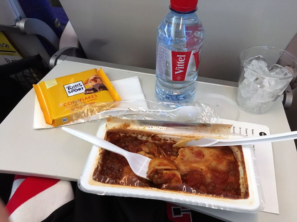 Scoot Beef Mushroom Lasagna Hot Meal