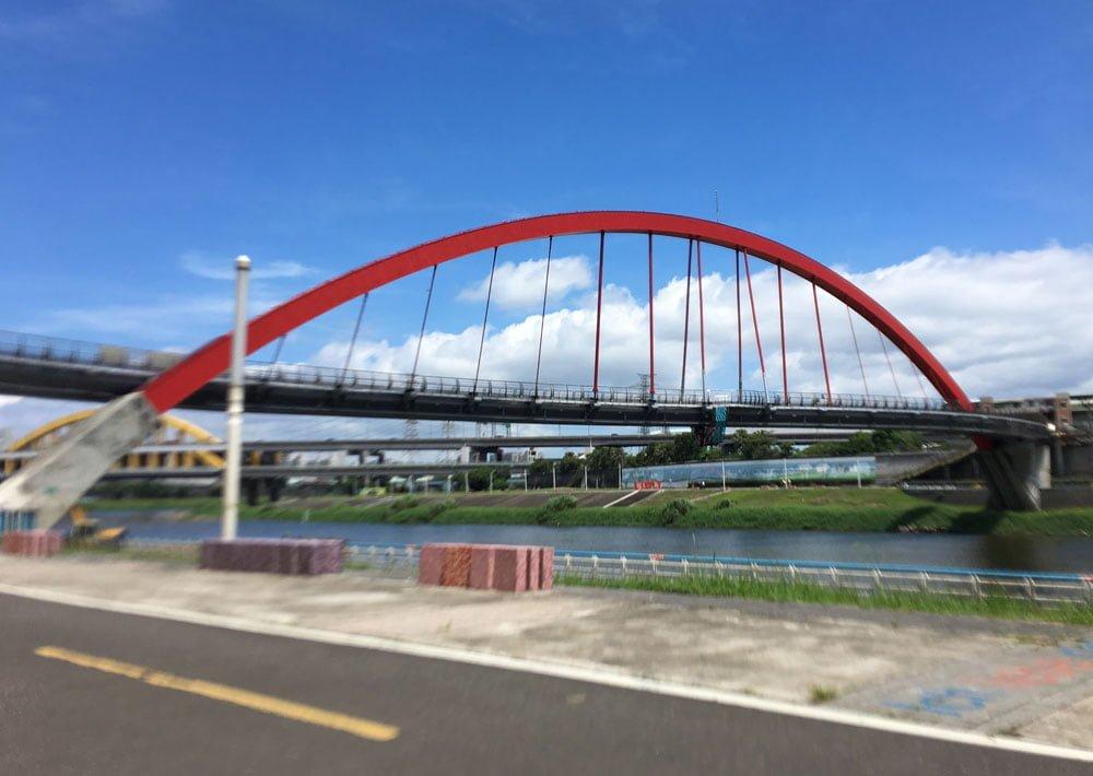 Taipei Songshan Rainbow Bridge