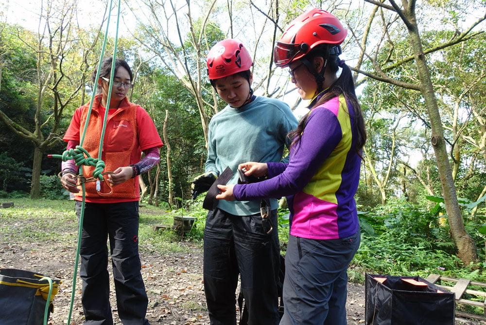 Taoyuan Tree Climbing Demo Harness