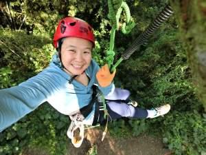 Taoyuan Tree Climbing Me Selfie