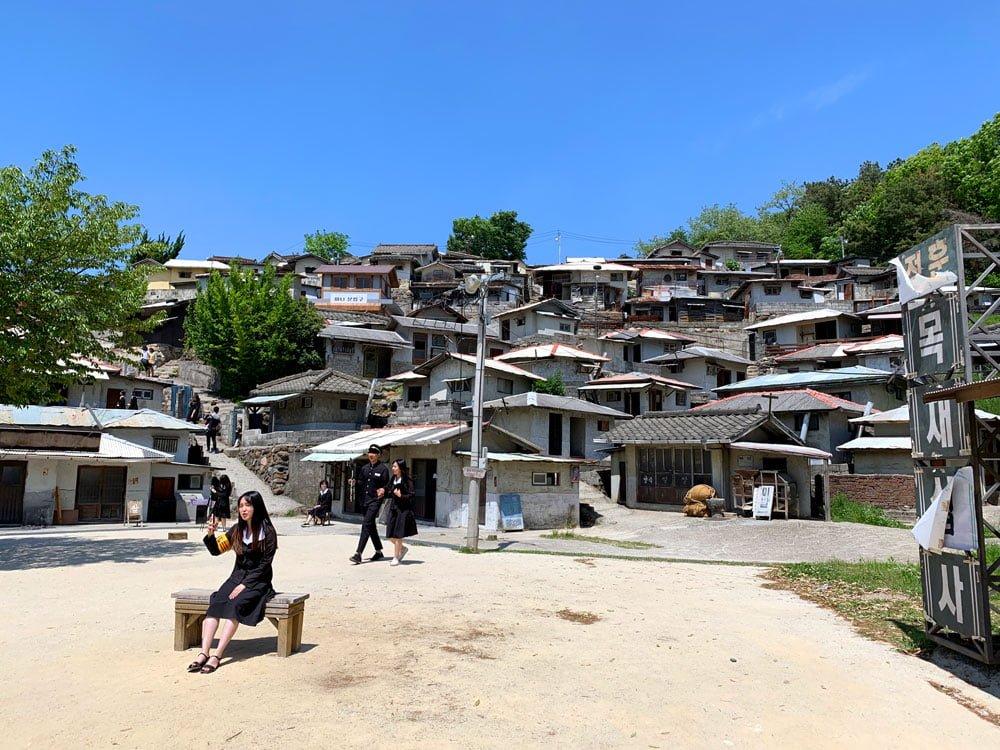 Suncheon Drama Film Set Hillside Selfie Spot