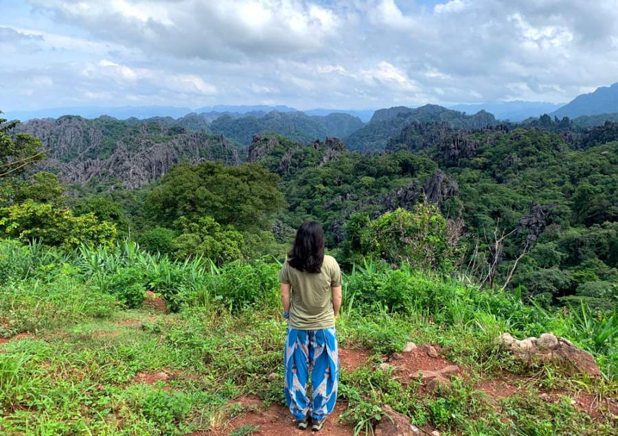 Laos Na Hin Limestone Forest Me