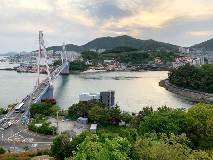 Yeosu Cable Car Dolsan Park Bridge
