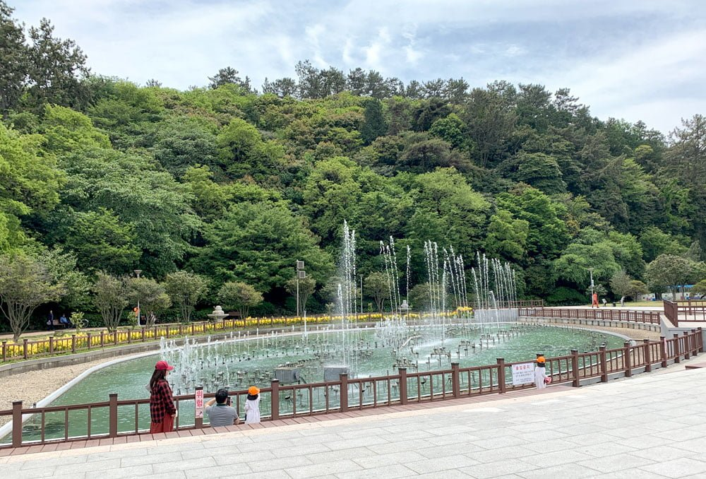 Yeosu Odongdo Fountain