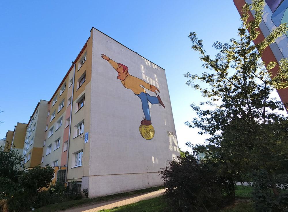 Poland Zaspa Street Art Pawel Paulus Mazur