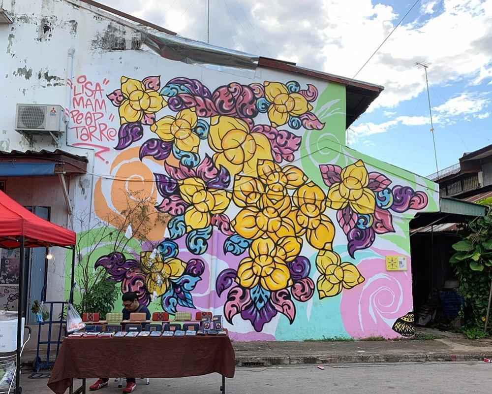 Sukhothai Sawankhalok Street Art PeapTarr LisaMam
