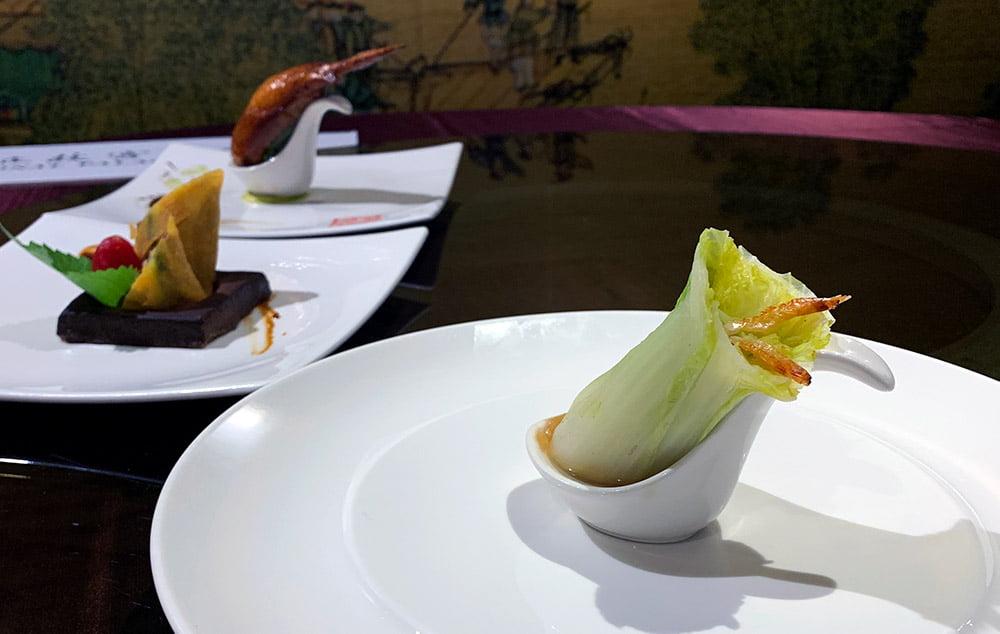 Taipei NPM Silks Restaurant Cabbage