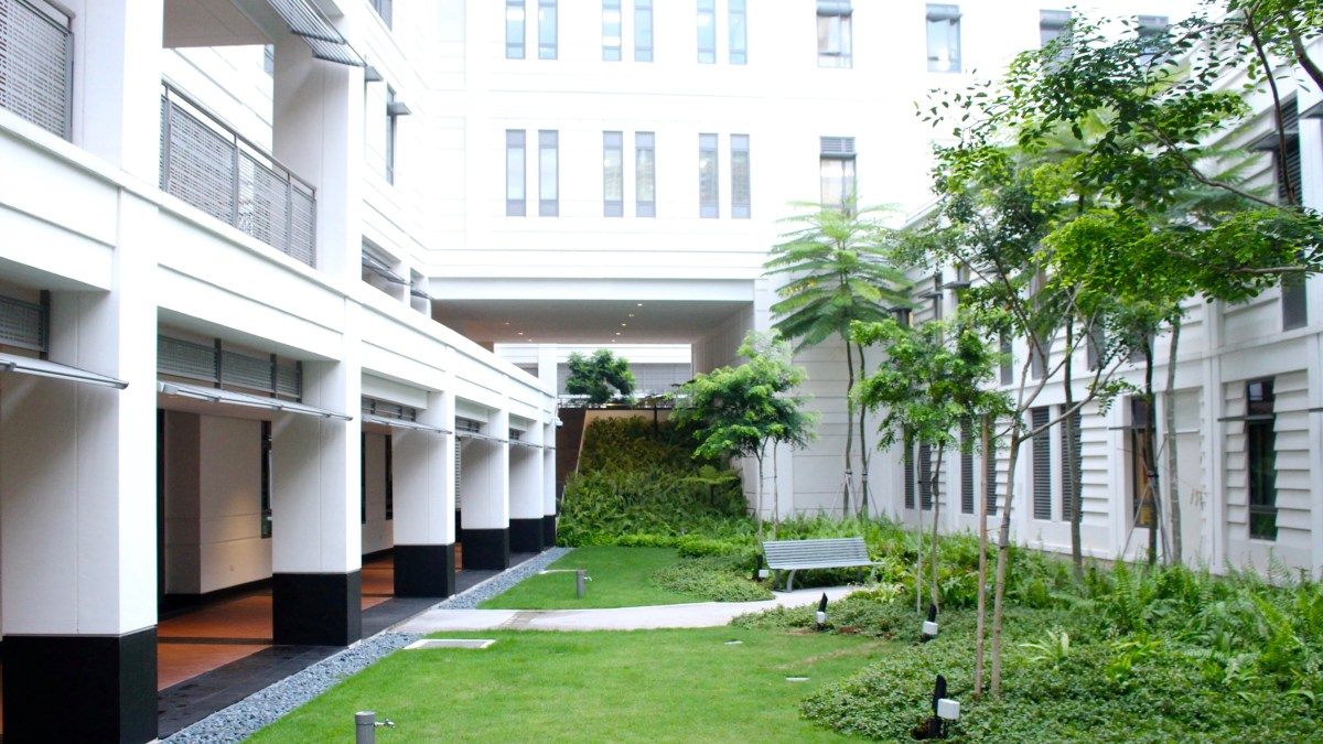 Courtyard Outside Tan Chin Tuan Lecture Theatre