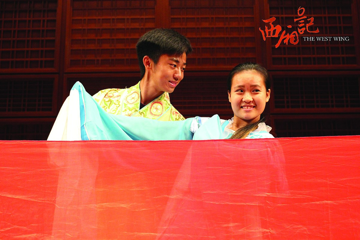 Bosen Xia '19 and Melody Tay '19 will be playing Zhang and Oriole in the Mandarin production. The couple fell in love on the first sight, but against the will of Oriole's mother. (Martin Vasev)
