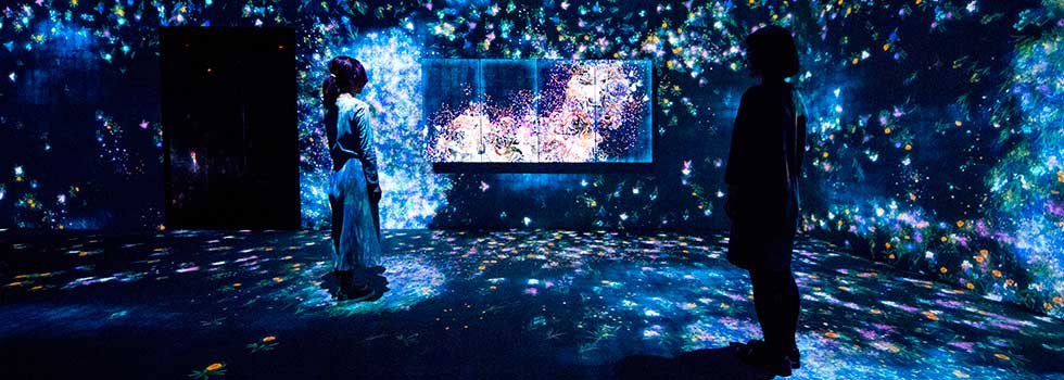 Future World Exhibition photo credit to teamLab
