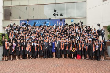 Yale-NUS College held its inaugural graduation ceremony for the class of 2017, on May 29, 2017.