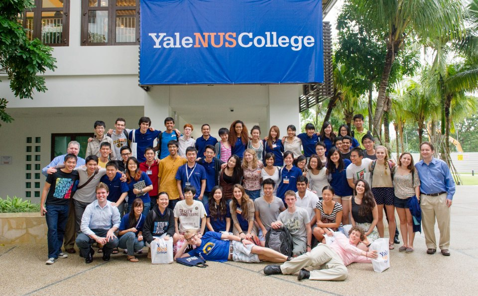 In it's first year, Yale-NUS College felt more like a summer camp.