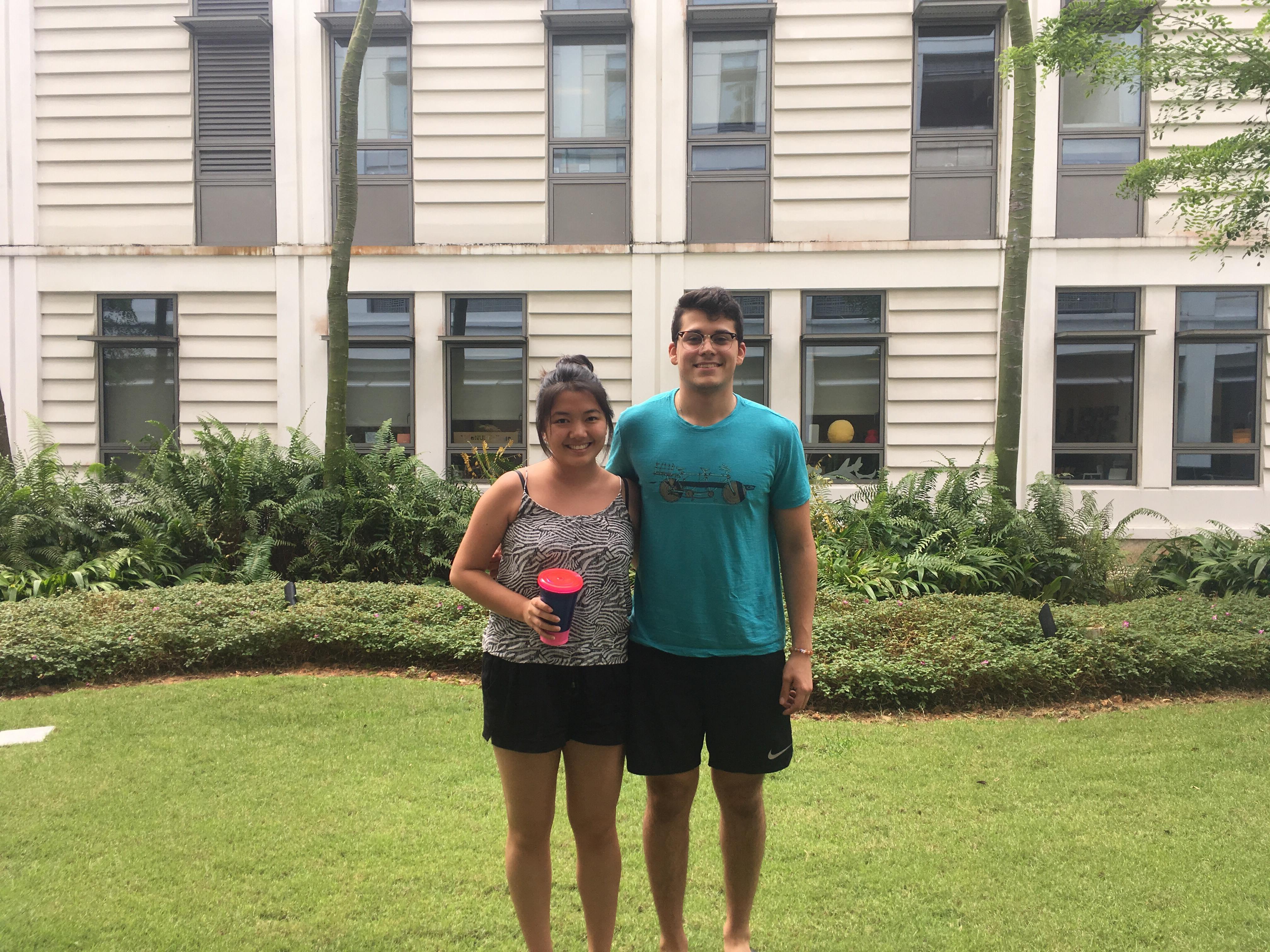 Exchange Students in Yale-NUS