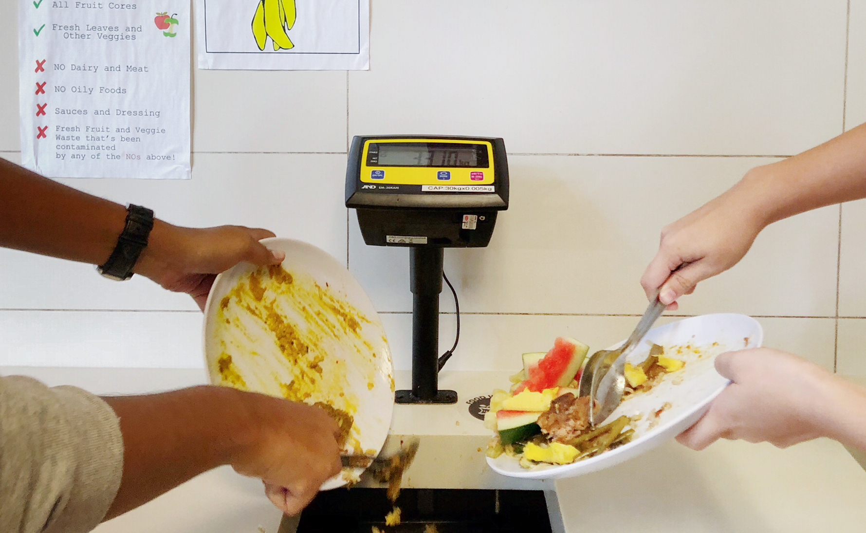 Designing the Waste out of the Dining Hall: Yale-NUS' Answer to Food Wastage