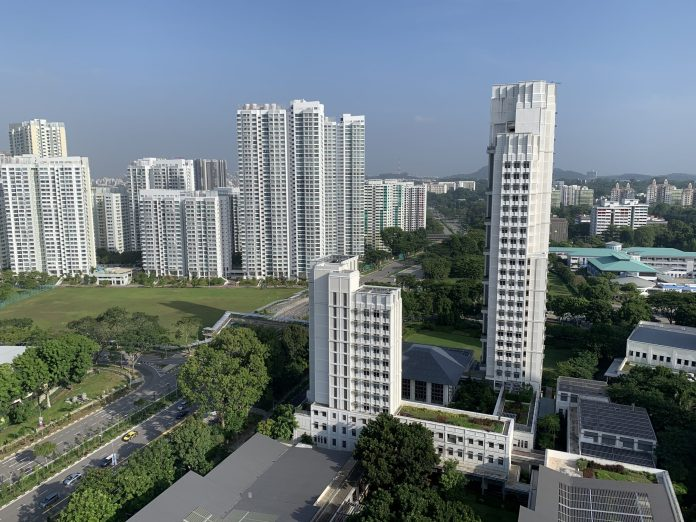 A picture of Yale-NUS's residential buildings
