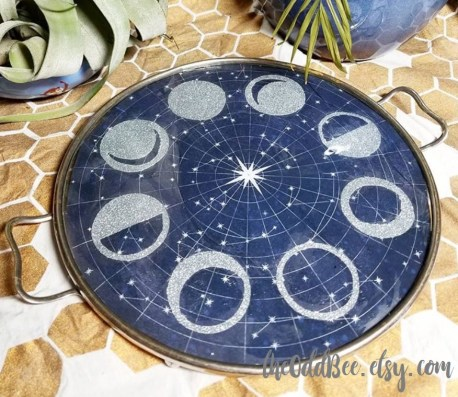 moon phase tray