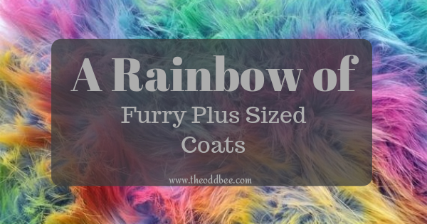 A Rainbow of Furry Plus Size Coats