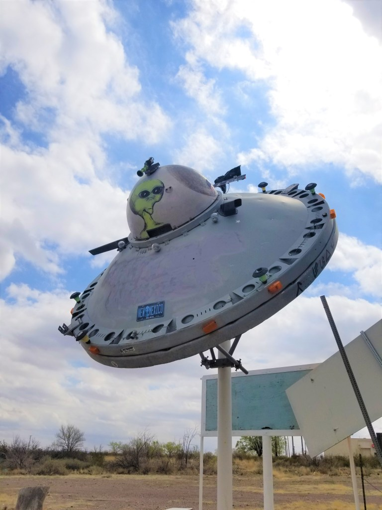 recycled parts flying saucer socorro nm