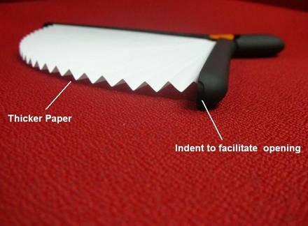pen fan openning