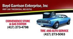 Boyd Garrison Enterprise, Inc