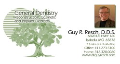 Dr. Guy R. Resch. Comprehensive Reconstruction and General Dentistry