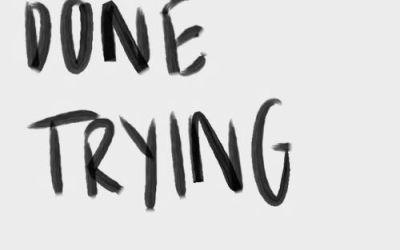 I am done explaining and apologizing…