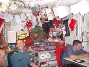 Christmas onboard HMCS Iroqouis