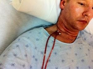 Steve Barnes Thyroid Cancer Surgery 2