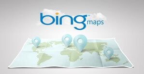 Bing-Maps For Finding Land
