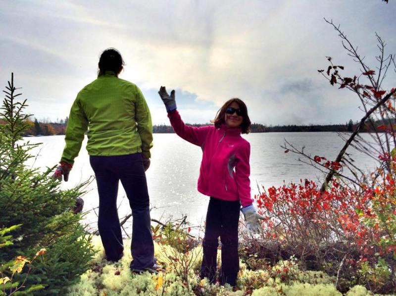 Clara and Mireille Barnes Off The Grid Land