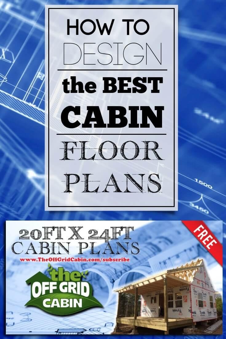 perfect floor plan: this 20ft x 24ft off grid cabin floor plan is
