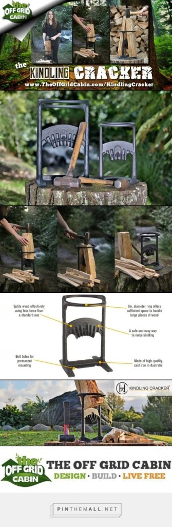 The-Kindling-Cracker-Firewood-Splitter-Pinterest Image