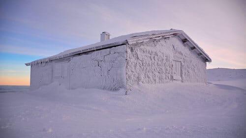 frozen-off-grid-cabin