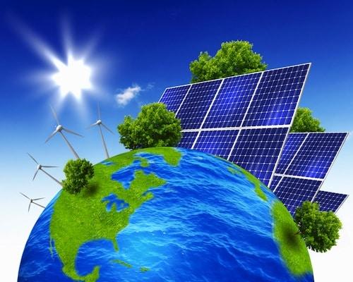 Solar Powered Planet