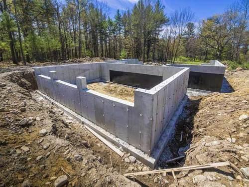 Poured Concrete Basement